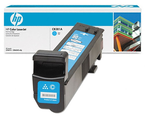 HP Color LaserJet CP6015 Cyan