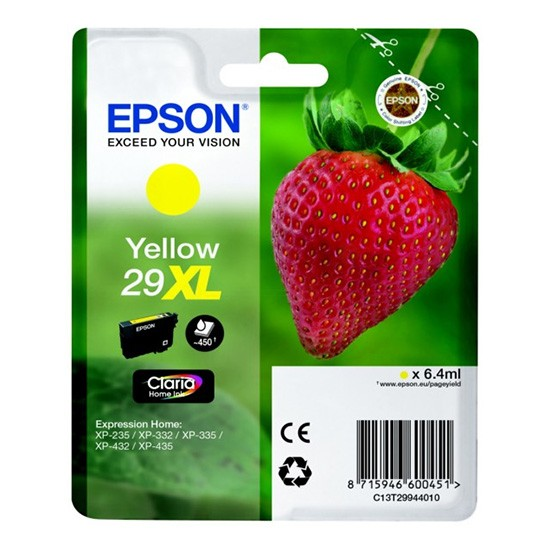 Epson 29 XL Yellow